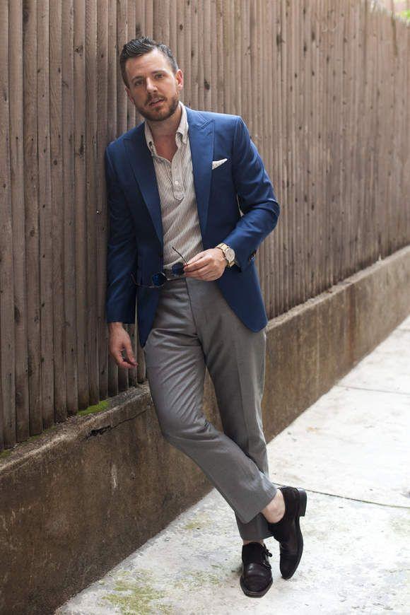オフィスカジュアルの新発想。「ジャケット×ポロシャツ」の着こなしで夏をクールに、おしゃれに。|U-NOTE [ユーノート]