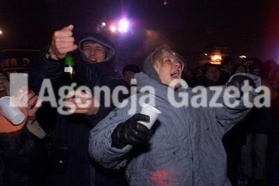 31.12.99. - 01.01.00 WARSZAWA SYLWESTER NA PLACU PILSUDSKIEGON FOT KUBA ATYS DIG   XFS