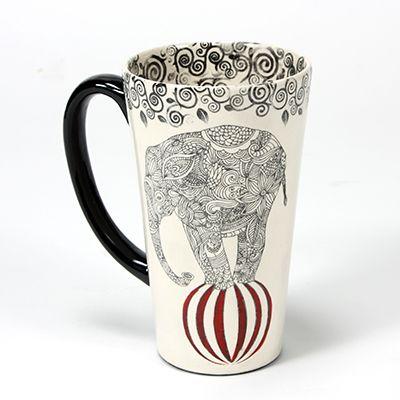 252 best images about sgraffito on pinterest ceramics - Ceramic mug painting ideas ...