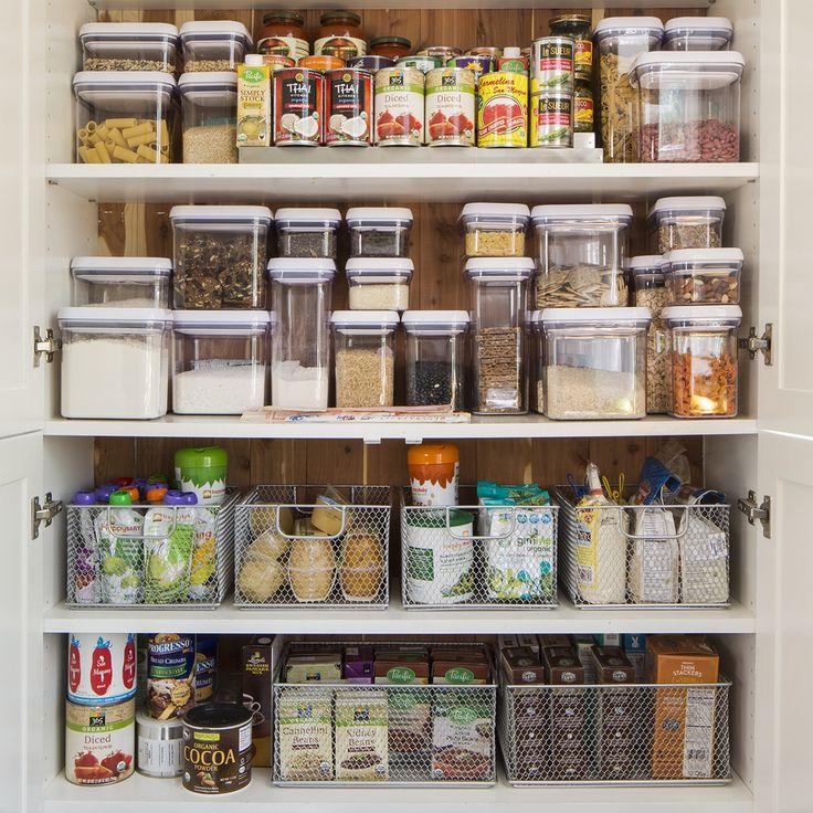 Pantry Shelves Starter Kit: 693 Best Kitchen Organization Images On Pinterest
