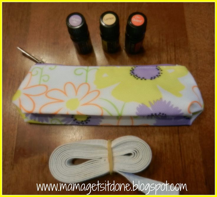 Mama Gets It Done Diy Essential Oils Carrying Case From An Already Makeup
