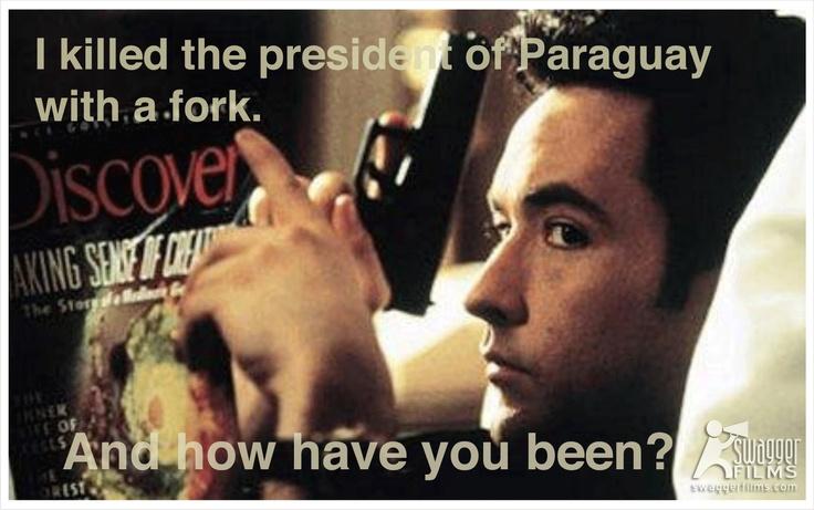 Grosse Pointe Blank, John Cusak #film   #quotes