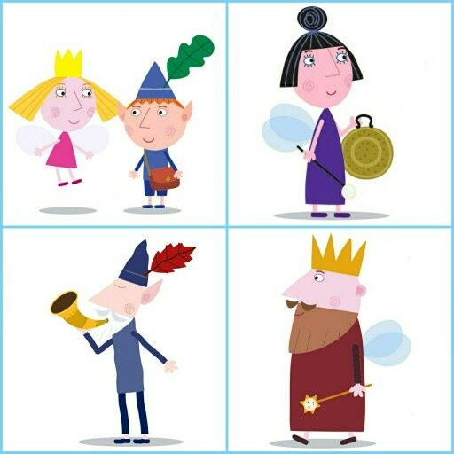 Ben and Holly's little kingdom lotto