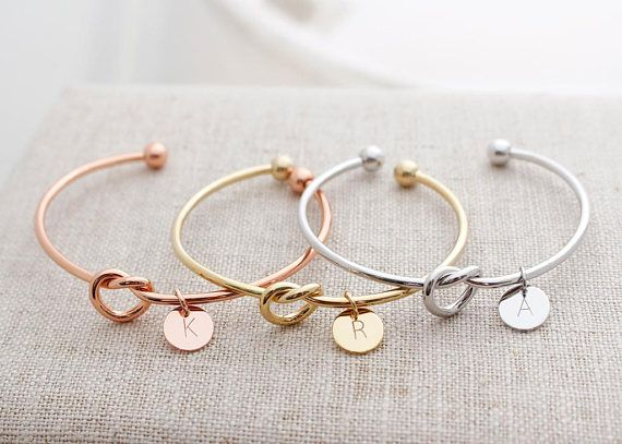Gold Plated Bracelets Bridesmaid Gifts