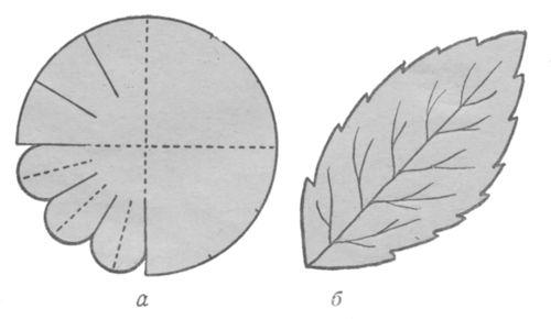 Выкройка георгины из фоамирана