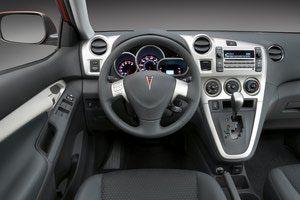 2009 Pontiac Vibe: Factory photo: Vibe GT interior