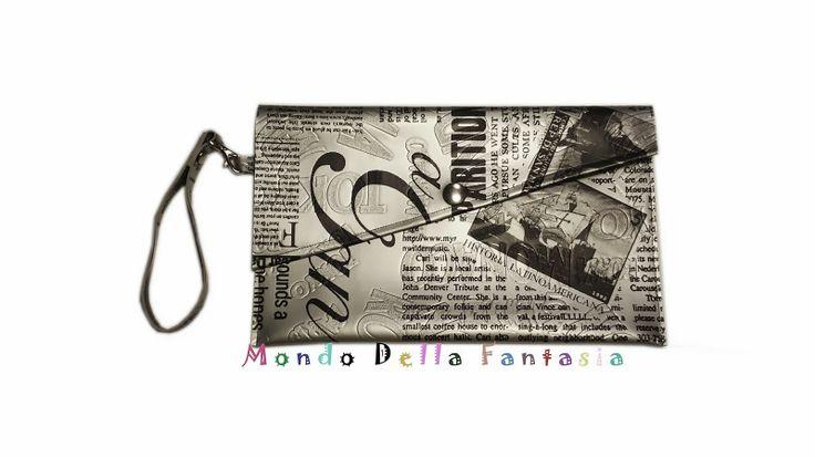 Mondo Della Fantasia: Pochette in eco pelle !!!