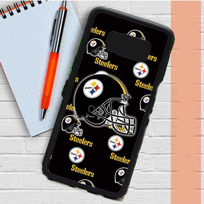 Pittsburgh Steelers Logos Helmets Samsung Galaxy S8 Plus Case Casefreed