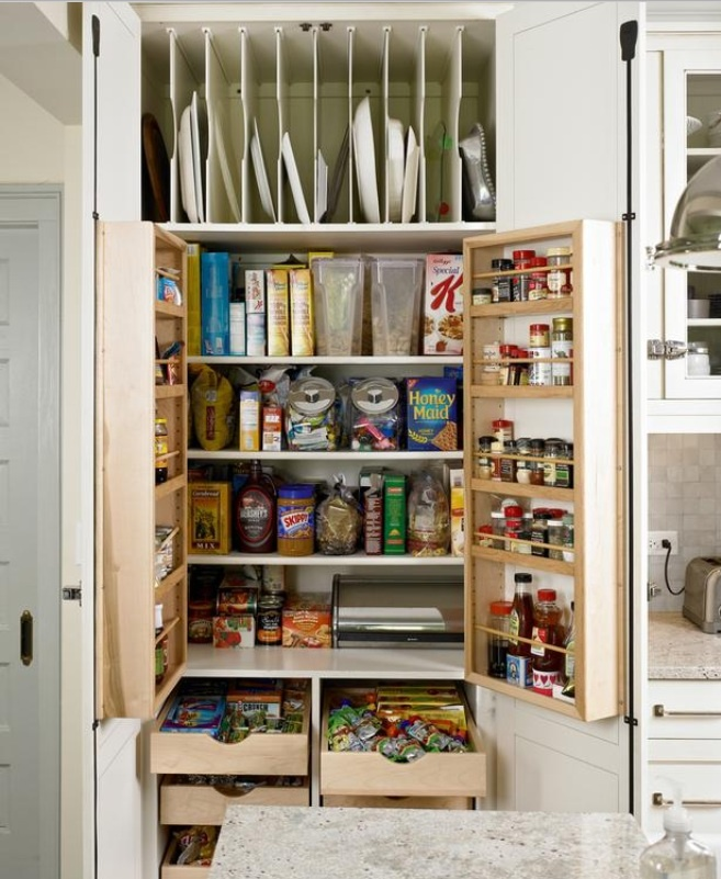 83 best images about design pantries on pinterest for Best kitchen designs ever