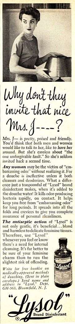 """1956. """"…the one unforgivable fault.""""   One Of The Biggest Con Jobs In Advertising History Oh for the love of god"""