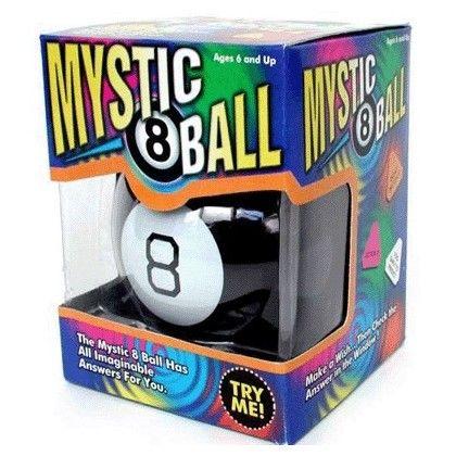 Magic 8 Balle, apportez une réponse rapide à toutes vos interrogations du moments ! Achat rapid-cadeau.com