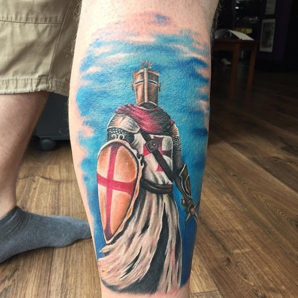 36 Best Knight Tattoos Images On Pinterest
