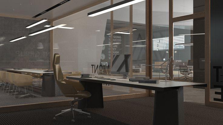 Mont group Office | projekt biura | architektura i architektura wnętrz | troomono