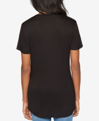 A Pea In The Pod Maternity Short-Sleeve Graphic Tee - Black M