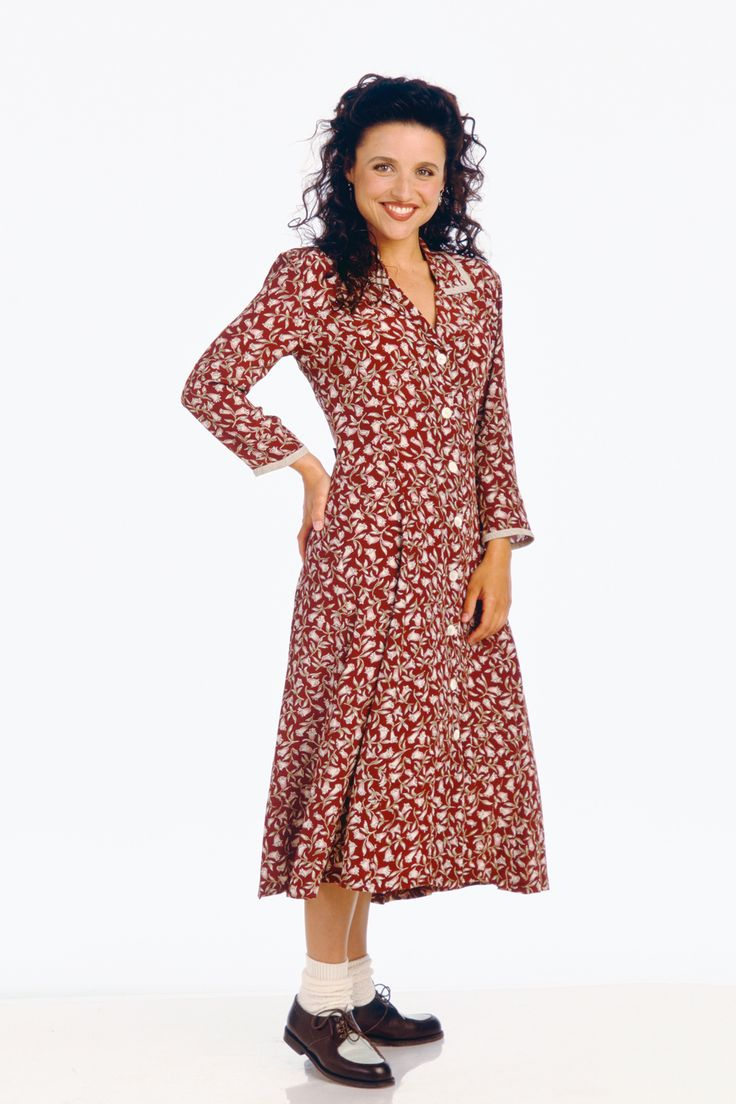 Our Favorite Trends, Then & Now #refinery29  http://www.refinery29.com/best-trends#slide13  The Granny Dress Elaine Benes, you're a stunning woman with killer moves, and your little '40s dress and spectator shoes outfit is literally the cutest thing since the atomic age. That said, the long, floral dresses we're wearing this summer are sleeveless, swirly, and a little bit sexier.