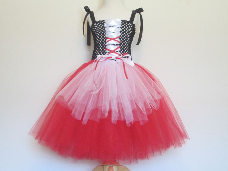 Tutu Dress Little Red Riding Hood Costume Baby Girls Toddler Girls Halloween Costume by American Blossoms. $59.00, via Etsy.