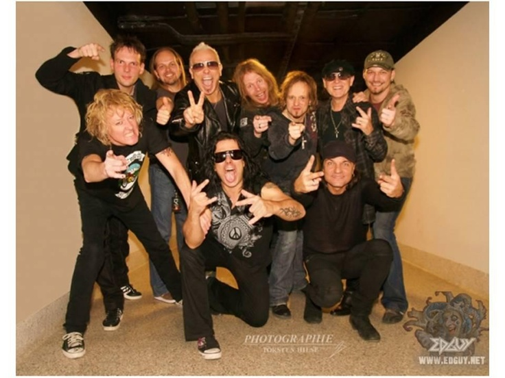 Edguy and Scorpions