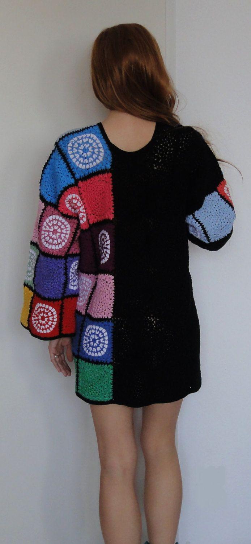 Дикие сердцем крючком туника платье цвета цветок мощности по GlamCro