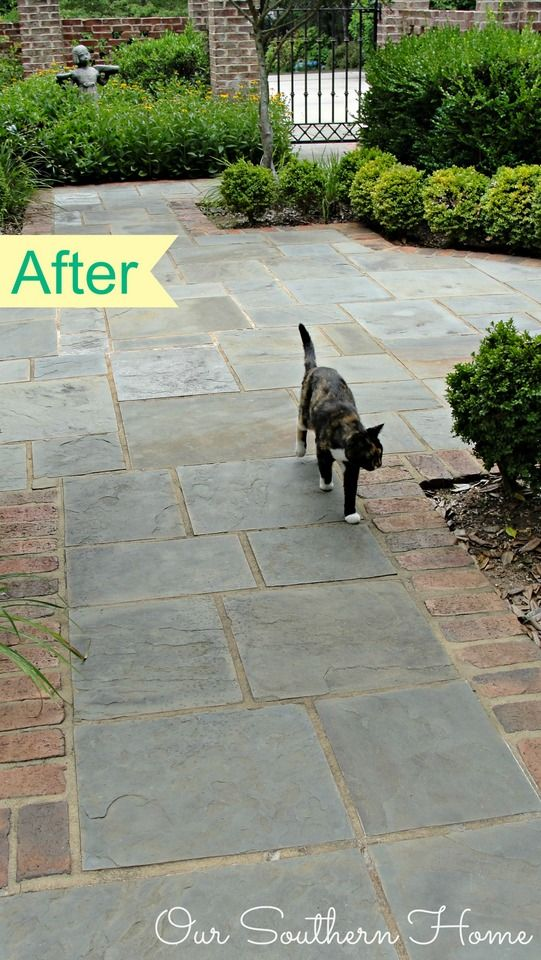 Our Southern Home | Goodbye Outdoor Broom | http://www.oursouthernhomesc.com