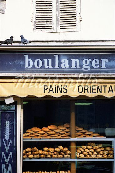 Life in Paris would include a daily trip to the Boulanger.