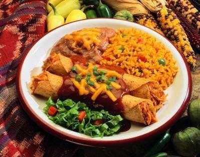 receta de enchiladas de pollo saludables
