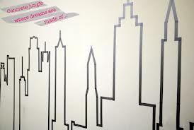 masking tape wall art - Recherche Google