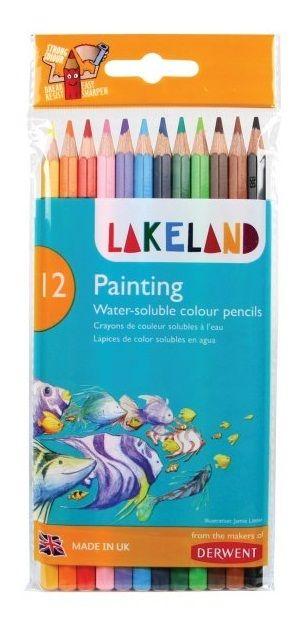 Derwent Lakeland Watercolour Pencil 12pc