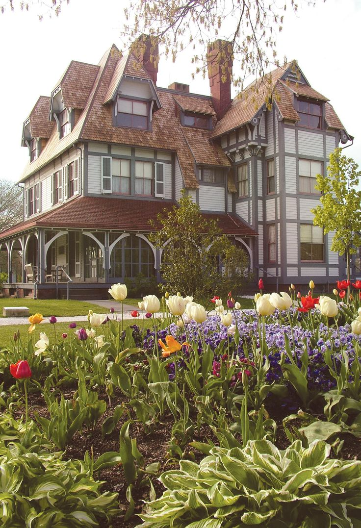 Beautiful House Garden Photo: 165 Best Images About 19th Century American Homes