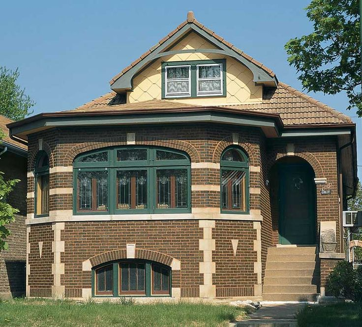Craftsman style and bungalow houses a collection of for Bungalow roof styles