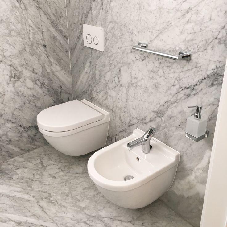 Kupelna / bathroom - Duravit + carrara marble