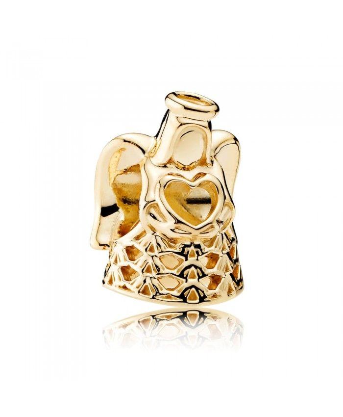 Pandora Golden Angel Charm 750999