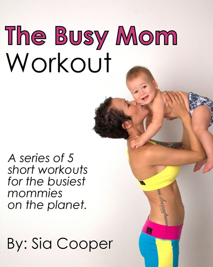 An easy postpartum workout plan for busy mothers that takes 15 minutes!