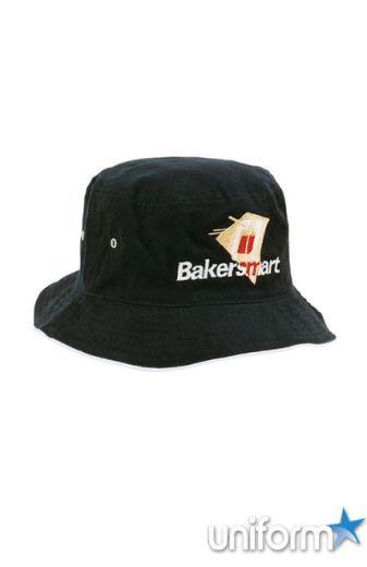 Headwear : Brushed Sports Twill Bucket Hat - Uniforms