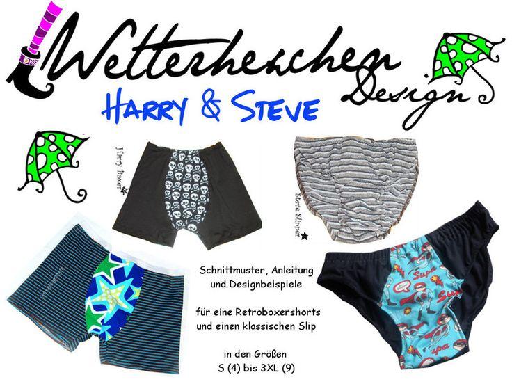 Ebook Retroshorts Harry & Steve Wetterhexchen