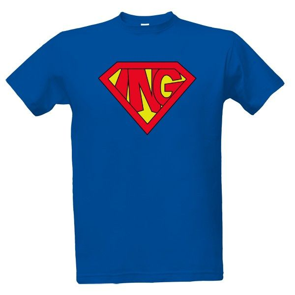 Tričko s potiskem Super inženýr