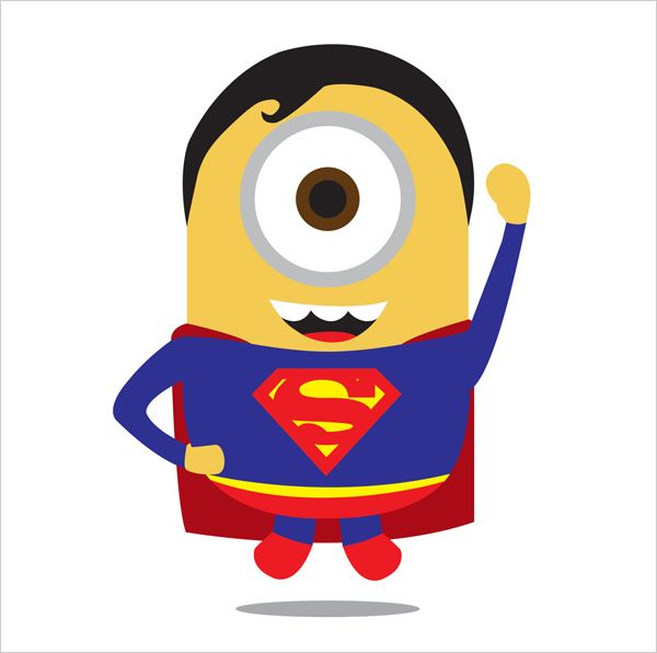 Minion Man of Steel  A Cute Collection Of Despicable Me 2 Minions | Wallpapers, Images & Fan Art