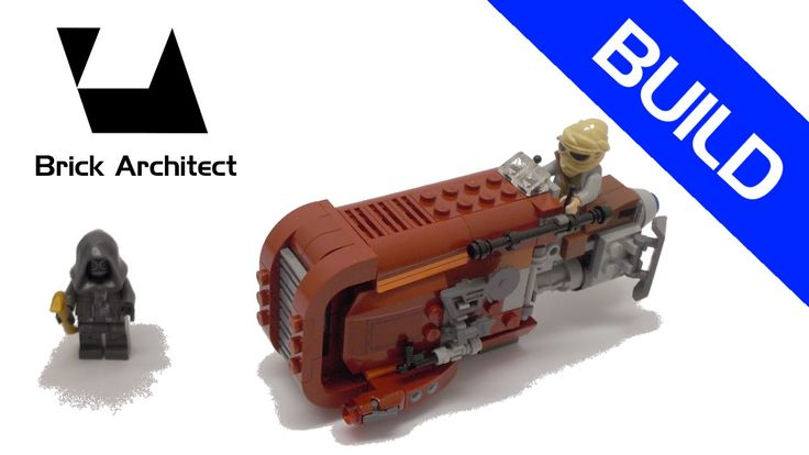 Lego Star Wars - Set 75099 Rey's Speeder - Step by Step Build - How To -...
