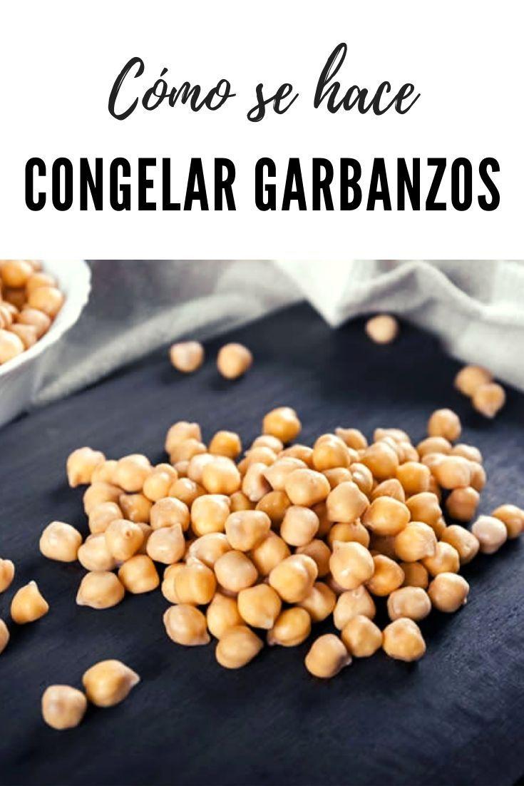 Congelar Garbanzos Garbanzos Recetas De Cocina Fáciles Recetas De Cocina