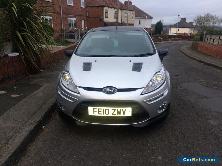 Ford Fiesta Zetec S 1.6 TDCI 3dr SILVER FULL LEATHER 2010 CAT D REPAIRED #ford #fiesta #forsale #unitedkingdom