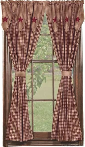 25 Best Ideas About Country Curtains On Pinterest Country Window Treatments Primitive Shutters And Burlap Bedroom