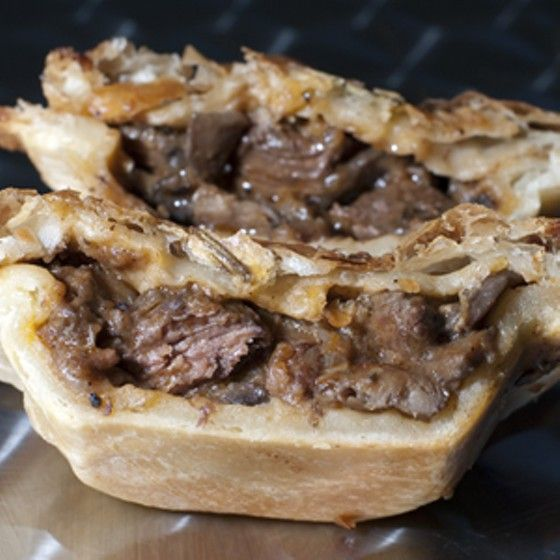 Steak and Stout Pie at Panbury's Double Crust Pies | Steak ...