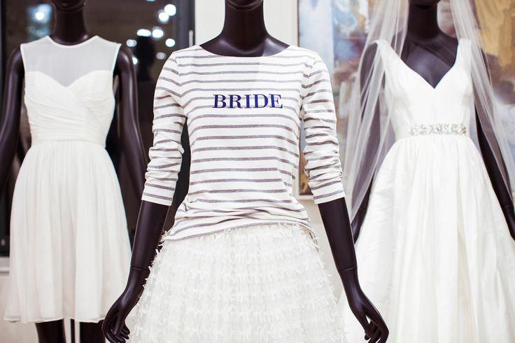 J.Crew bride sailor tee.