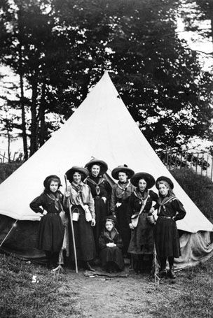 Girlguiding Tamworth | Guiding Information | History