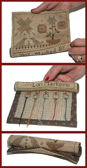 Birdy Stitching Roll from La-D-Da