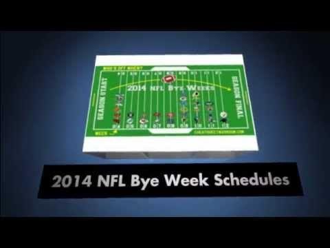2014 NFL Bye Week Schedule #2014 #NFL #Bye #Week #Schedule #2014NFL