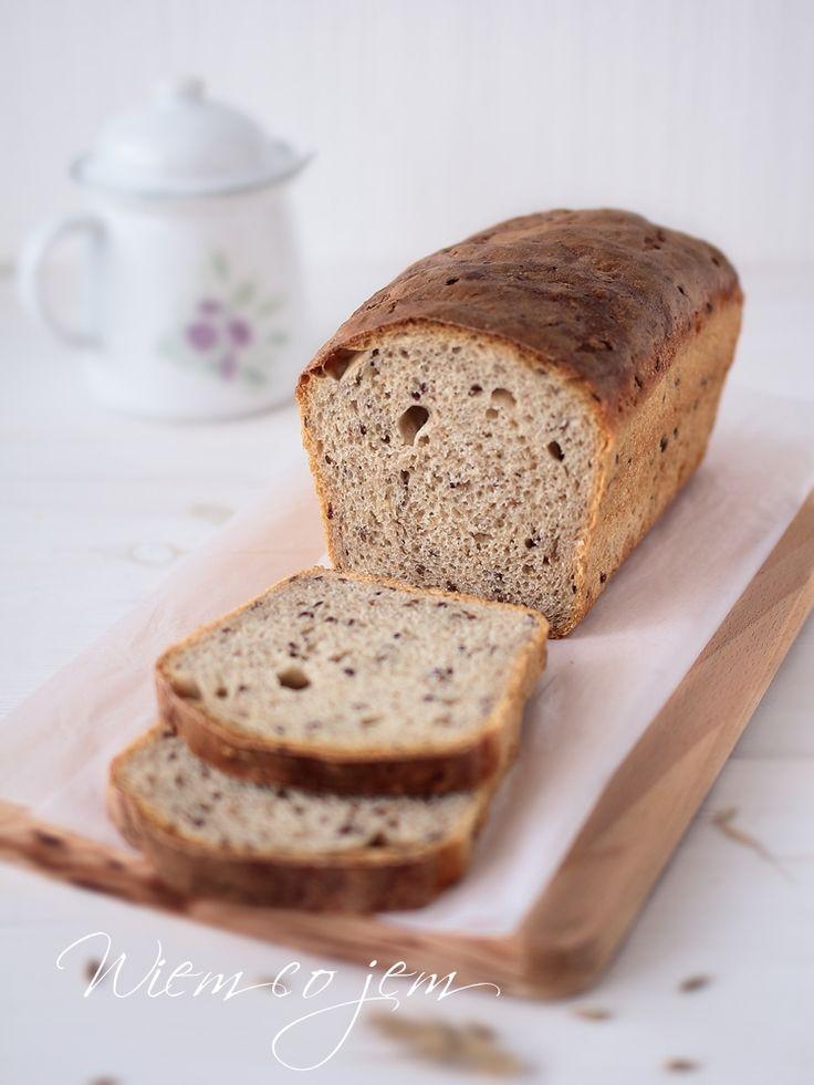 Wiem co jem - Chleb z siemieniem lnianym