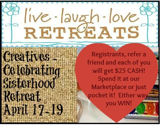 Live, Laugh, Love Retreats: A Month to Share the LOVE