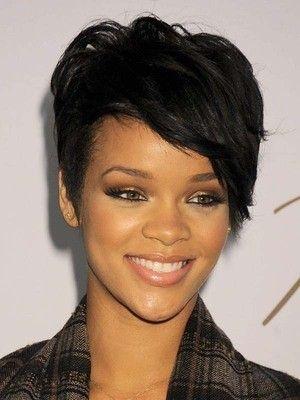 Astonishing 1000 Ideas About Rihanna Short Haircut On Pinterest Black Bob Short Hairstyles Gunalazisus