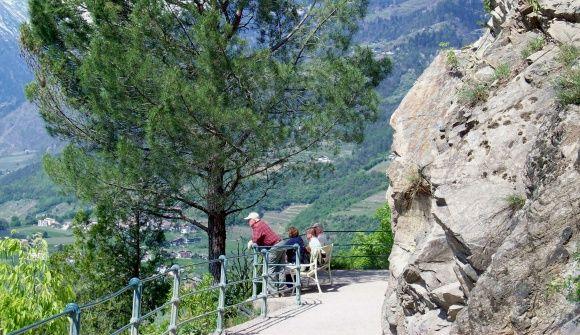 Tappeinerweg Meran - Tappeiner Promenade - Südtirol