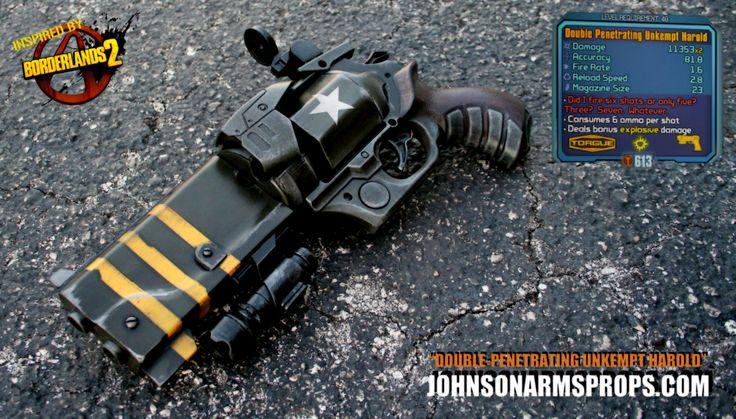 Borderlands 2 Double-Penetrating Unkempt Harold by *JohnsonArms on deviantART